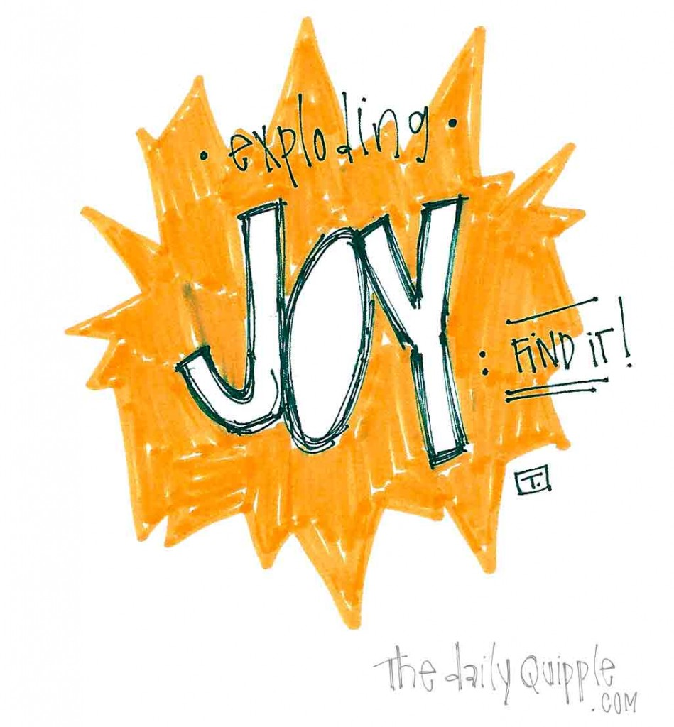 Exploding Joy: Find it!