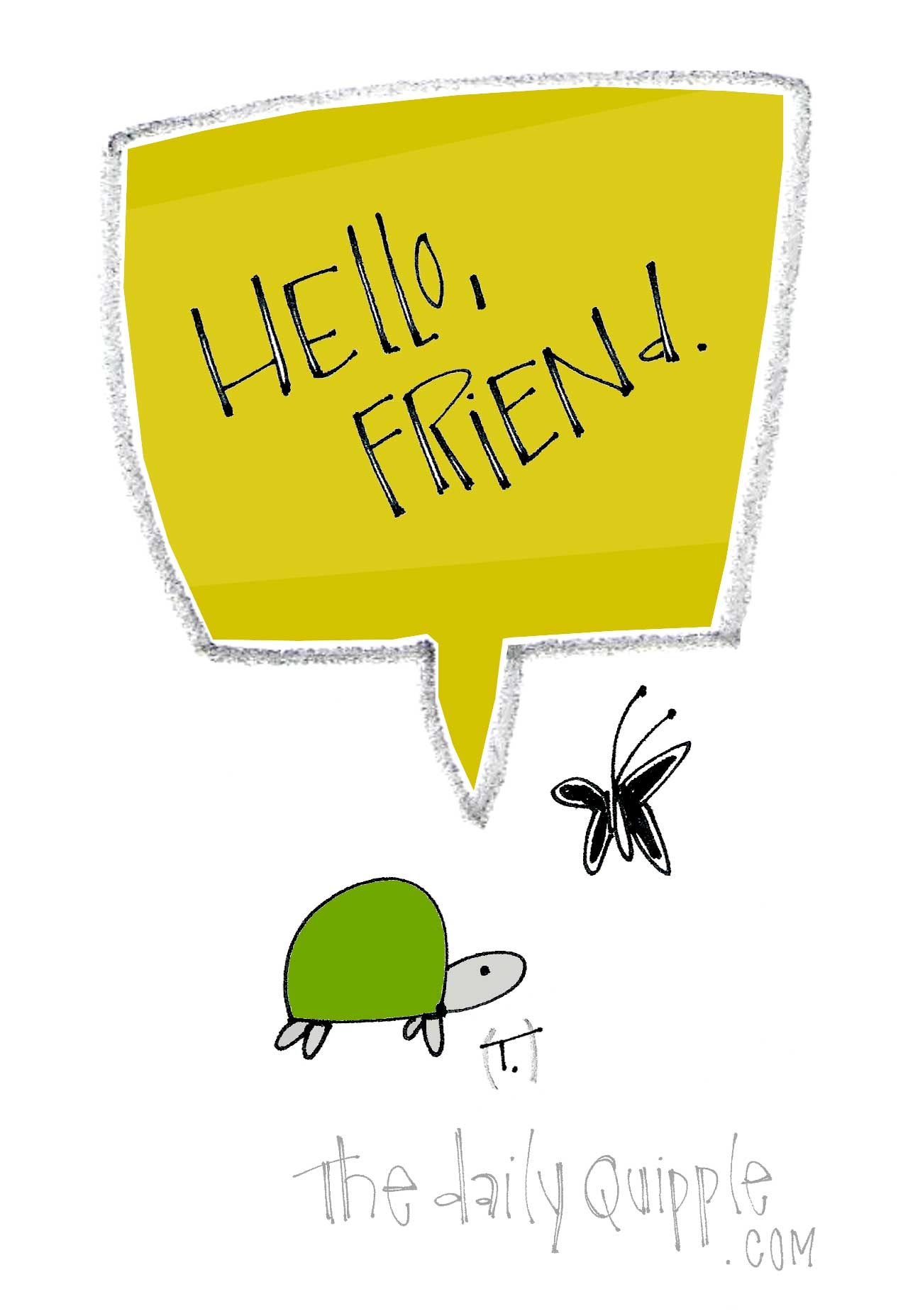 Friend Quotes Hello Friend Quote  The Daily Quipple