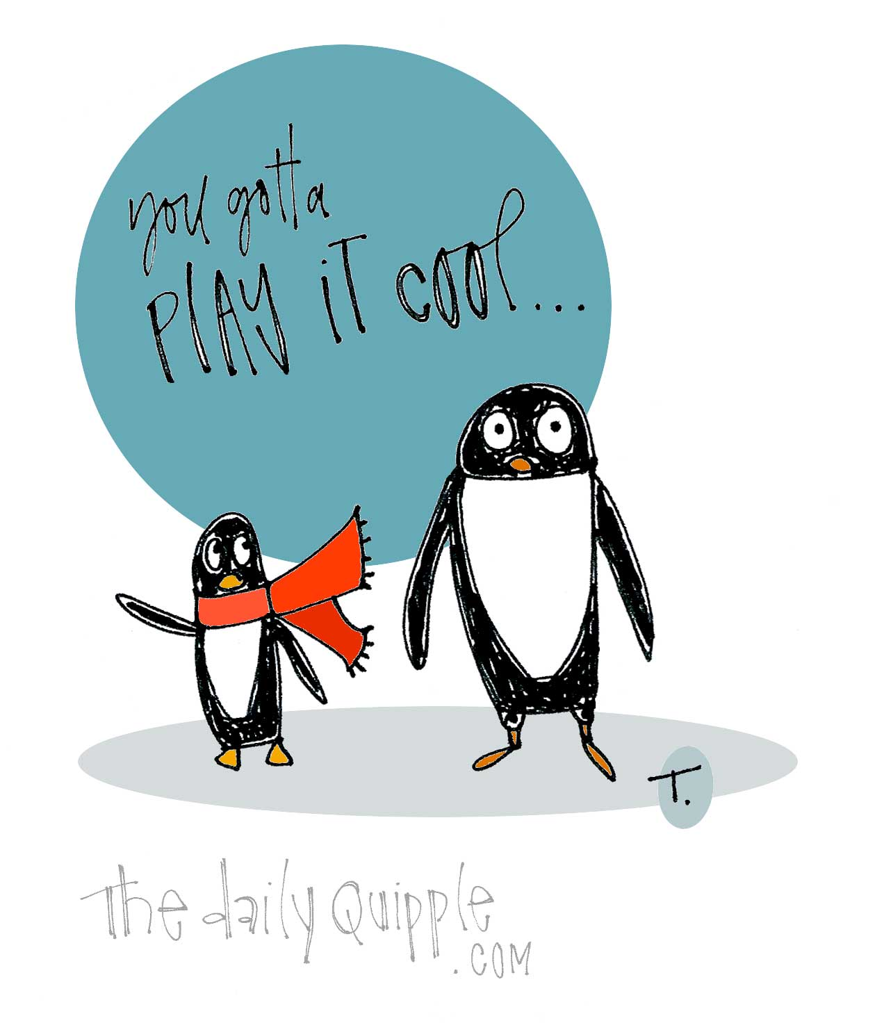 Penguin Pep Talk The Daily Quipple