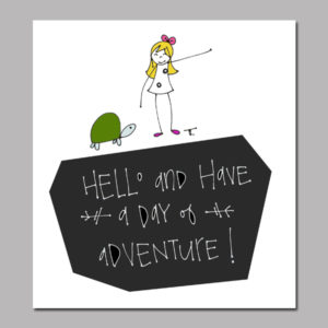 Adventure Announcement Digital Print