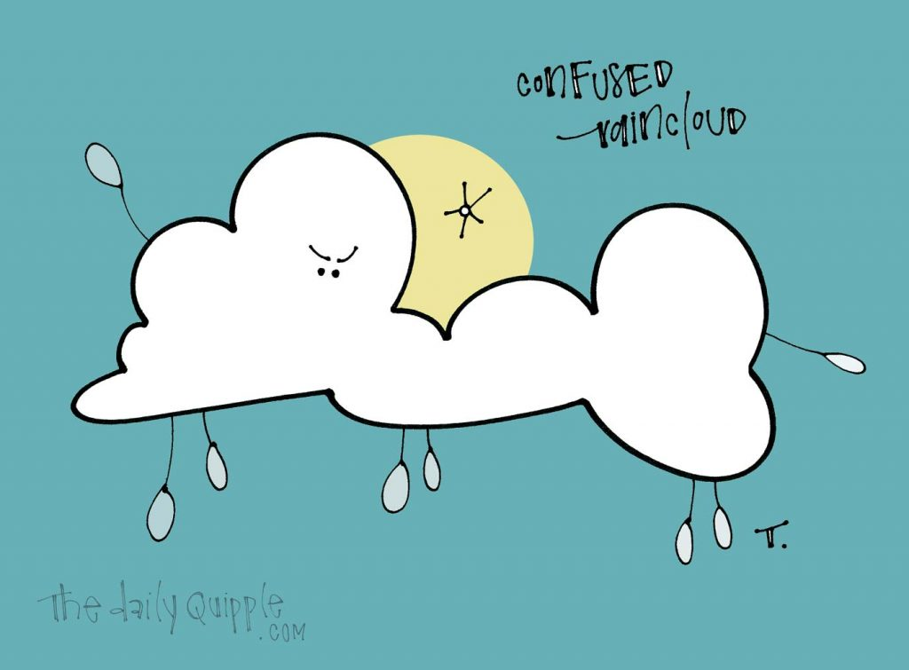 Mostly Cloudy? | The Daily Quipple