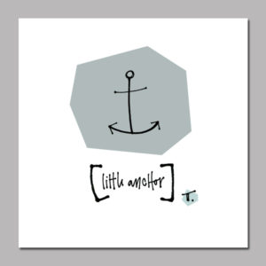 Little Anchor Digital Print