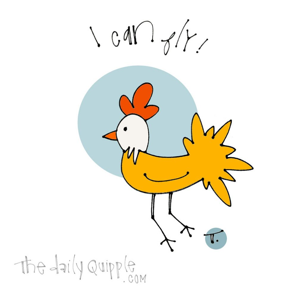 Optimistic Chicken | The Daily Quipple