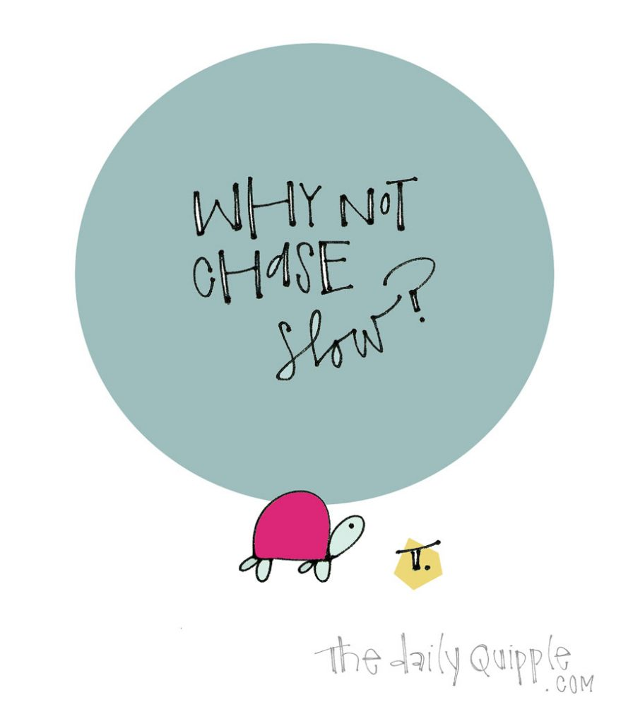 Instead of Chasing the Next Thing… | The Daily Quipple