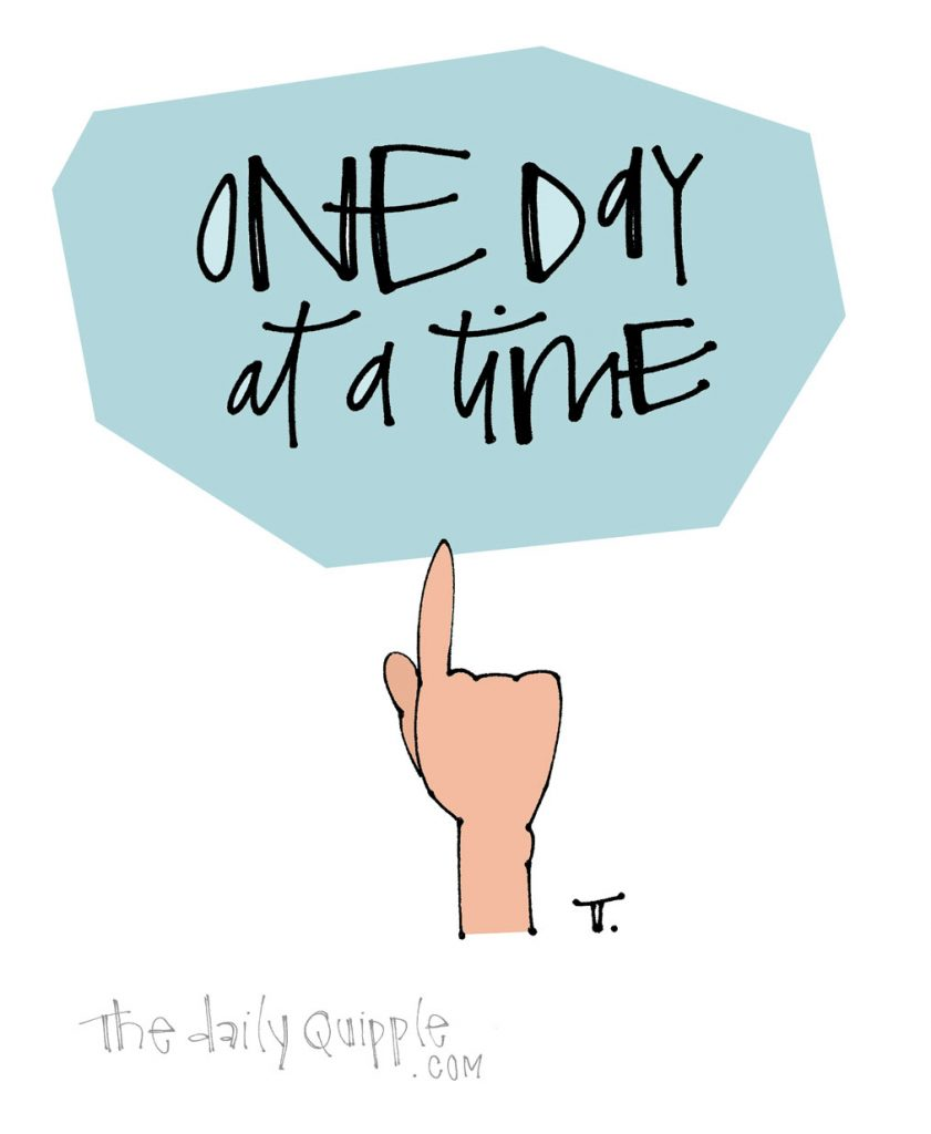 Start With Today | The Daily Quipple