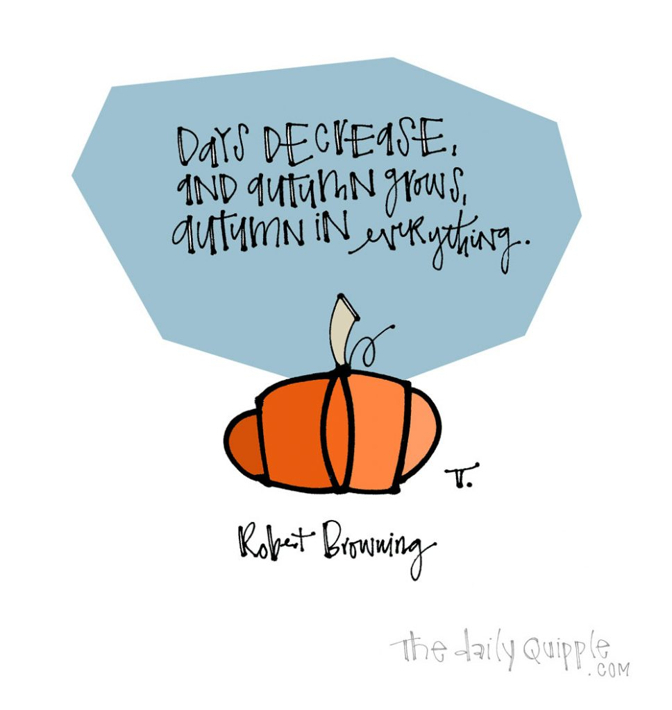 Autumn in Everything | The Daily Quipple