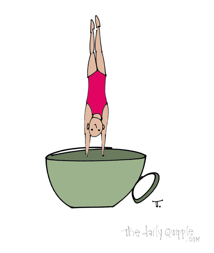 Caffeine Dive | The Daily Quipple