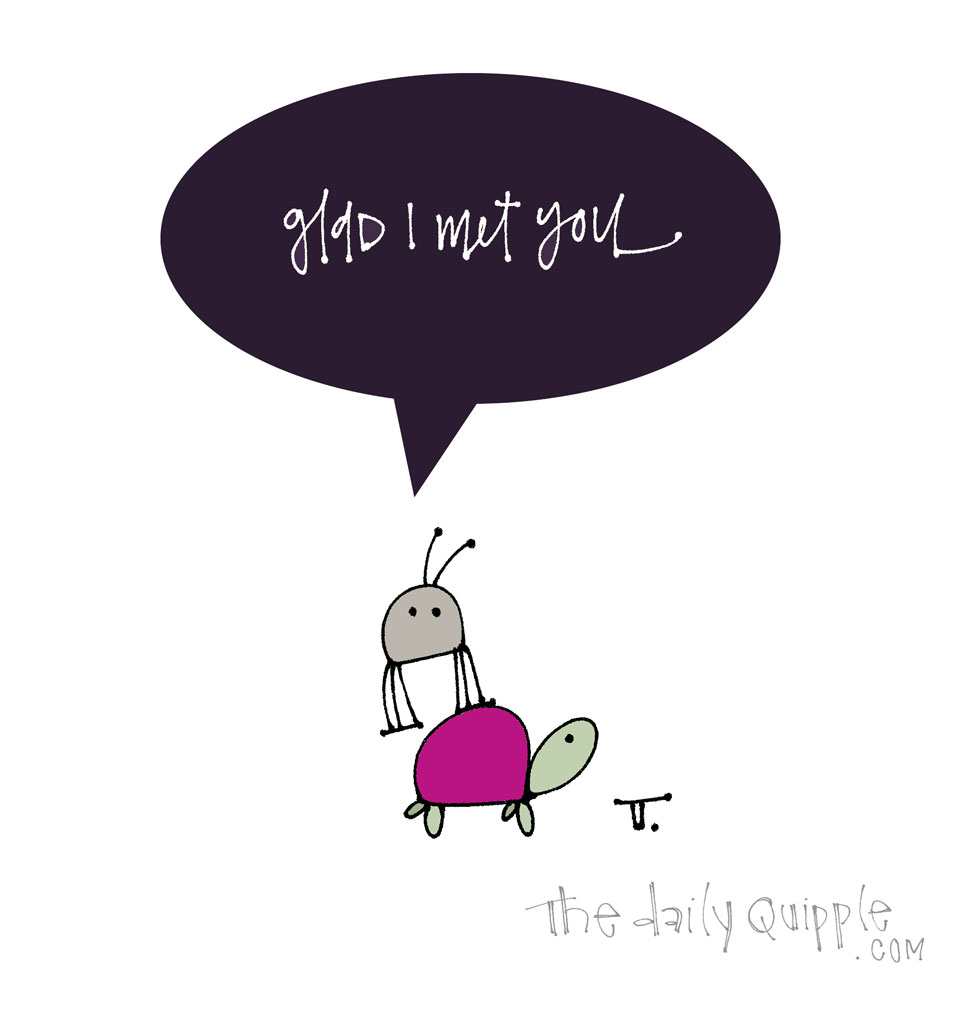 Thanks for the Ride | The Daily Quipple