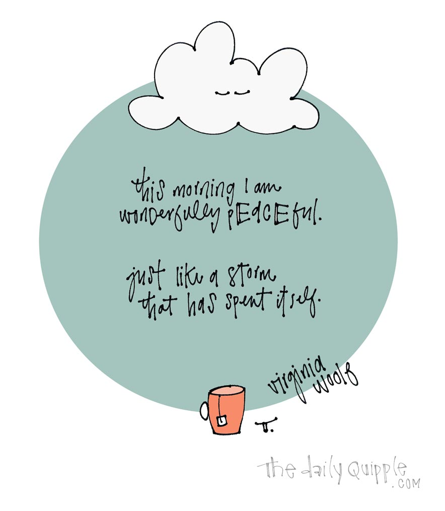 Stillness After the Storm | The Daily Quipple
