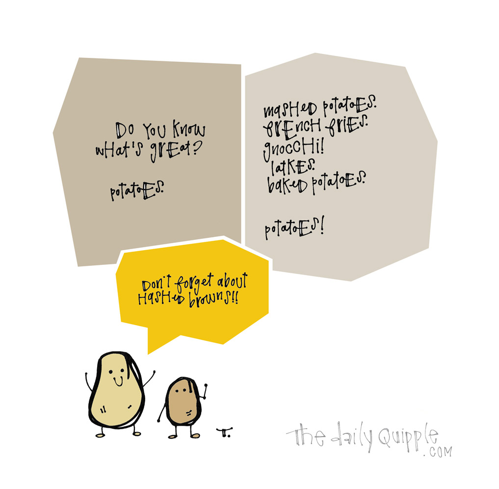 The Humble Spud | The Daily Quipple