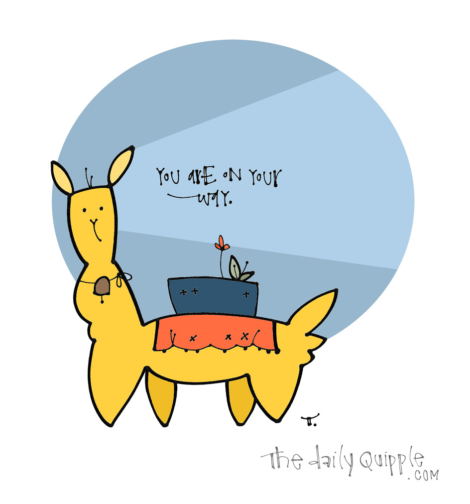 The No Drama Llama Way | The Daily Quipple