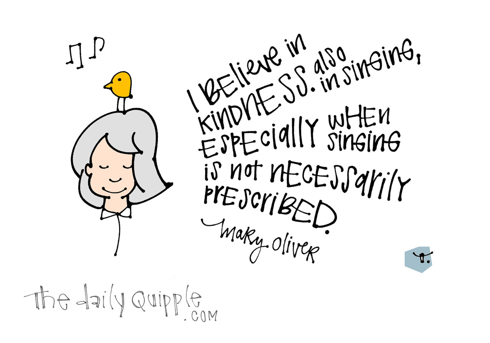 Mary Oliver | The Daily Quipple