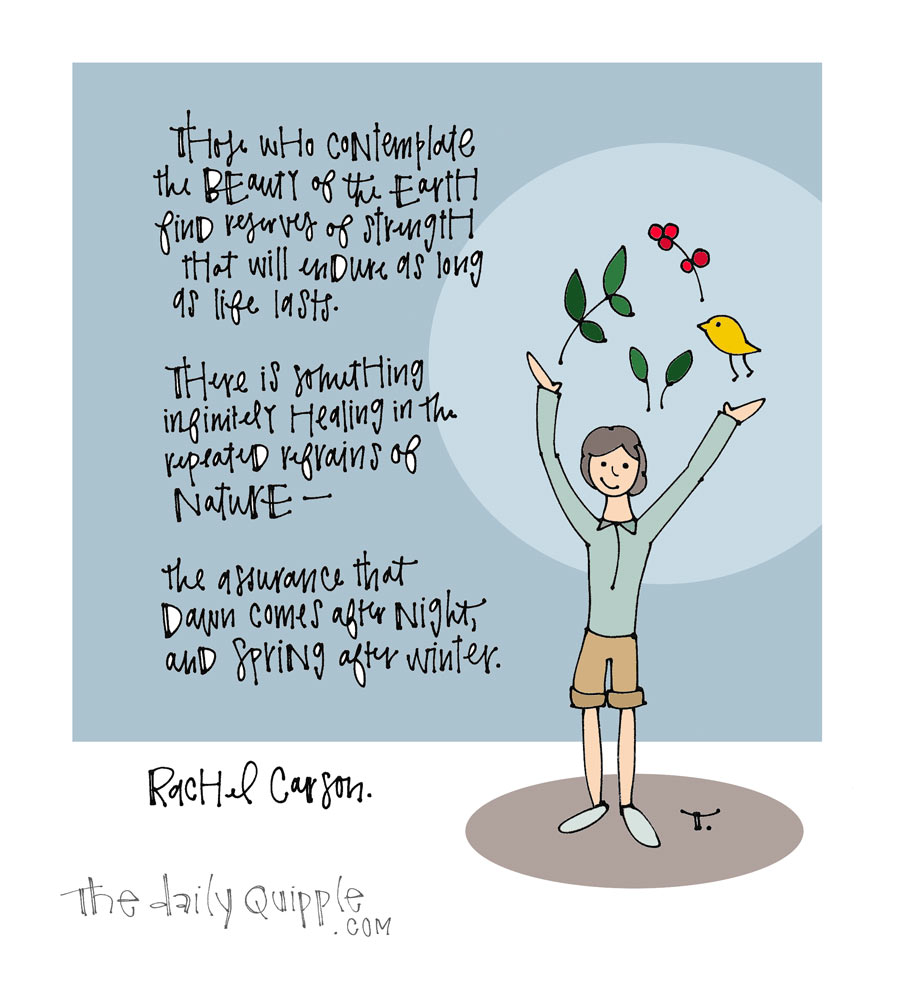 Rachel Carson | The Daily Quipple