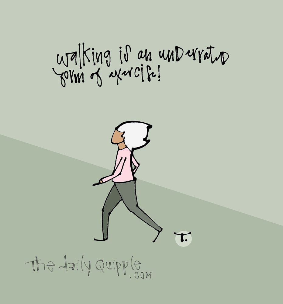 Power of Walk | The Daily Quipple